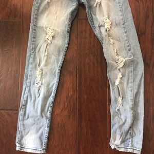STS Blue Jeans - STS blue ripped jeans